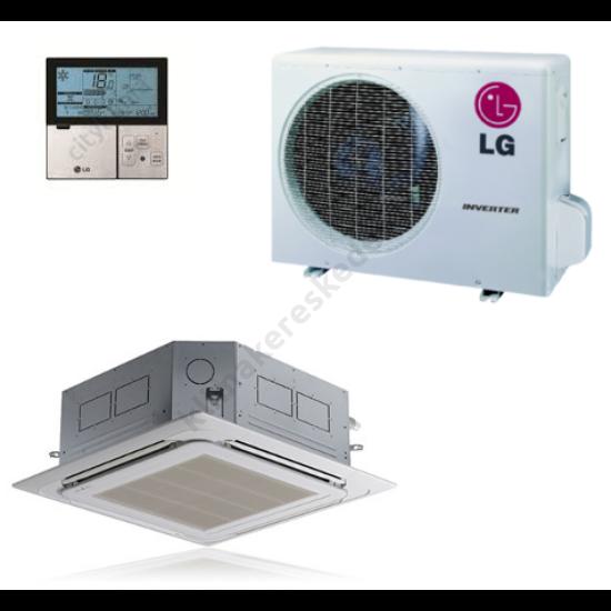 LG CT12/UU12W inverters kazettás klíma berendezés