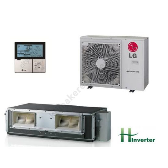 LG UU18WH/UB18H H-inverteres légcsatornás klímaberendezés