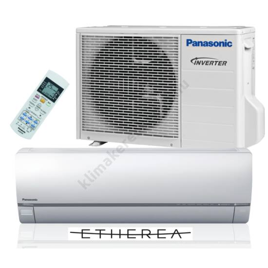 Panasonic Etherea XE12QKE ezüst inverteres klímaberendezés