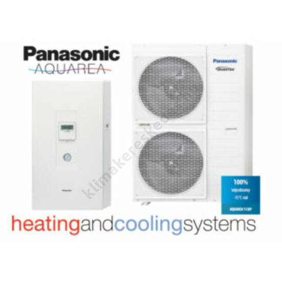 Panasonic Aquarea High Temperature UH12FE8/SHF12F9E8 hőszivattyú 12 kW