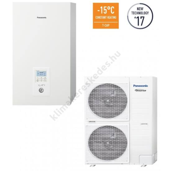 Panasonic ALL IN ONE T-CAP UQ12HE8/SXC12H9E8 hőszivattyú 12kW
